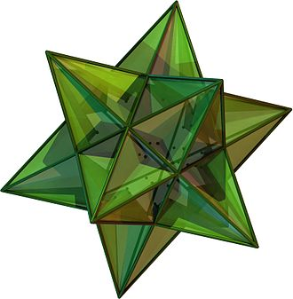 Three-dimensional space - Image: Great Icosahedron
