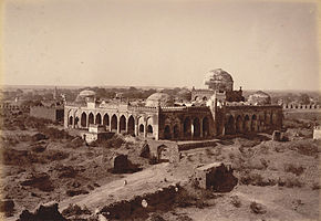 Great Mosque in Gulbarga Fort.jpg