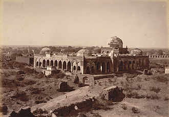 Bahmani Sultanate - Great Mosque in Gulbarga Fort