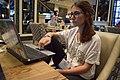 Greta at Wikimania 2018 - DSC 0002.jpg