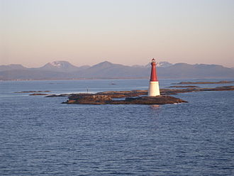 Grip, Norway - View of Grip lighthouse