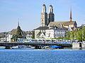 Grossmünster - Wasserkirche - Quaibrücke - Männedorf - Zürichsee - ZSG Stadt Rapperswil 2012-09-20 15-32-28 (P7000).JPG