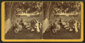 Group of people relaxing outdoors, East Jaffrey, N.H, by D. S. Rice.png