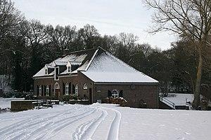 Nederlands: Grubbenvorst: slottermolen in de s...