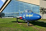 Grumman TF-9J Cougar, 1956 - Evergreen Aviation & Space Museum - McMinnville, Oregon - DSC00368.jpg