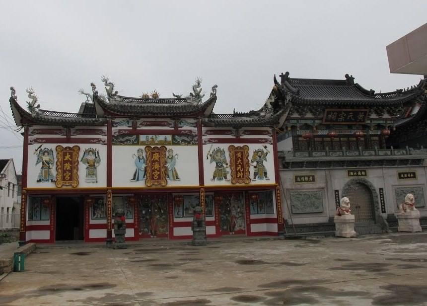 Guanji temple and Huang shrine in Lucheng, Wenzhou, Zhejiang, China (2)