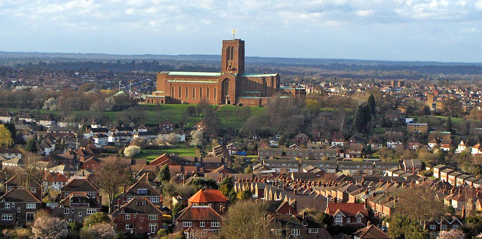 Guildford & Cathedral of Surrey