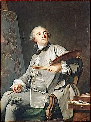 Jean-Baptiste Marie Pierre - Portrait of Jean-Baptiste Marie Pierre by Guillaume Voiriot