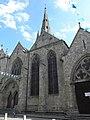 Guingamp (22) Basilique N.D. Façade nord 02.JPG