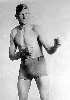 Gunboat Smith American boxer