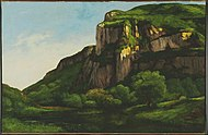 Gustave Courbet - Rocks at Mouthier - Google Art Project.jpg