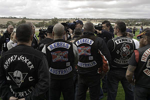 Rebels Motorcycle Club - Image: Gypsy Joker Protest Run 5