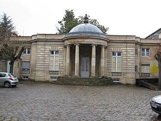 Jean-Paul-André Razins de Saint-Marc - The mansion where the marquis lived in Bordeaux