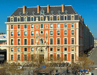 Docks (Marseille) - Hôtel de Direction Facade
