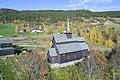 Høre stave church, aerial view.jpg