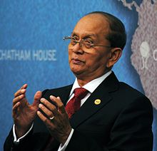 HE Thein Sein, President of the Republic of the Union of Myanmar (9292476975).jpg