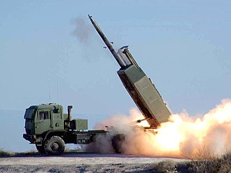 HIMARS - Image: HIMARS missile launched
