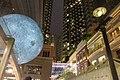 HK 灣仔 Wan Chai 利東街 Lee Tung The Avenue night 月球博物館 big Moon Museum by UK Luke Jerram October 2017 IX1 10.jpg