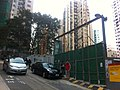 HK Mid-levels 衛城道 Castle Road 金門建築 Gammon construction site view On Fung Building Nov-2011.jpg