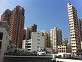 HK Mid-levels Bonham Road 聖保羅書院 Saint Paul's College 開放日 Exhibition Day roof view SYP outside Nov-2011 B.jpg