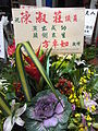 HK Sheung Wan 方卓如 Fong Cheuk Yu 2 陳淑莊 Chan Shuk Chong flower sign May-2012.JPG