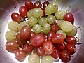 HK food 生果 fruit 葡萄子 Grapes texture red green July 2017 Lnv2 01.jpg