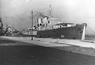 HMCS Prince David (F89) - HMCS Prince David in Bermuda, circa 1941
