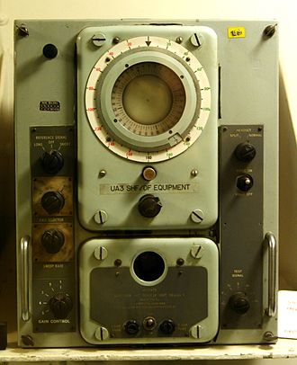 High-frequency direction finding - Image: HMS Belfast Super Duff