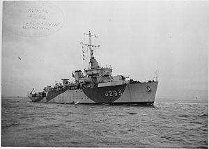 HMS Pickle (J293) - HMS Pickle FL17443
