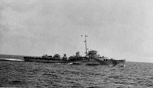 HMS Blackwood (K313) - Image: HMS blackwood K313