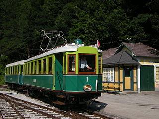 Höllental Railway (Lower Austria) Preserved railway in lower Austria