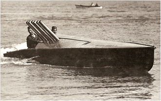 Hacker-Craft - John Hacker's 1911 Kitty Hawk, the fastest boat in the world between 1911 and 1915