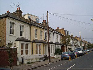 Sands End - A Victorian terrace in Sands End