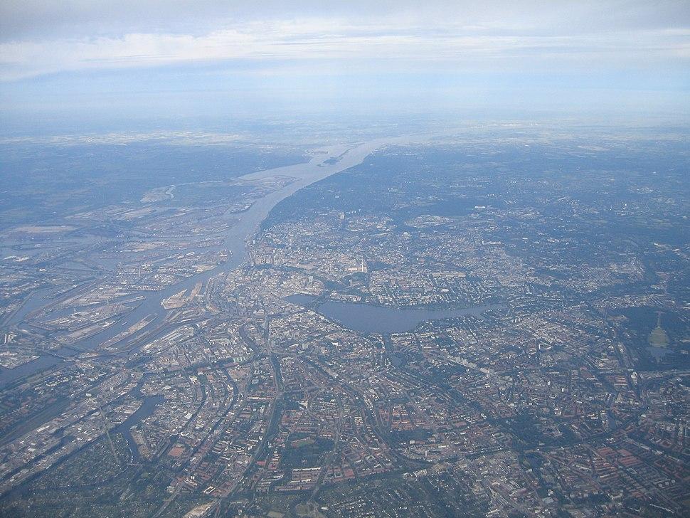 Hamburgfromair