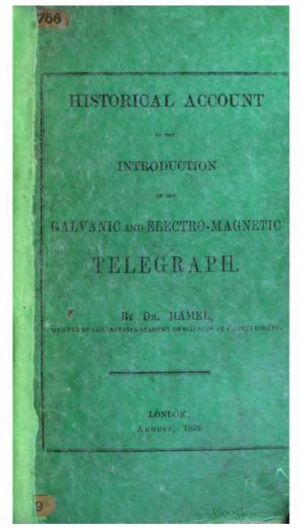 File:Hamel Telegraph history 1859.djvu