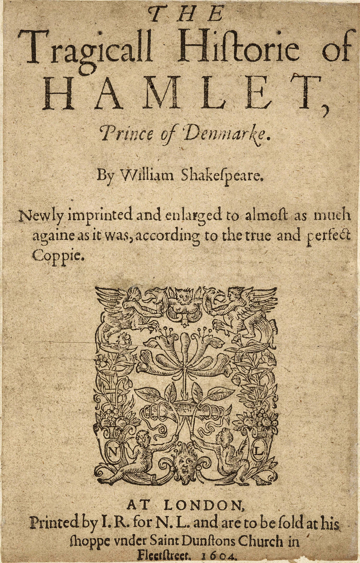 hamlets madness in hamlet by william shakespeare This thesis makes a tentative application of the relevance theory proposed by sperber and wilson in the interpretation of hamlet's insanity in shakespeare's.