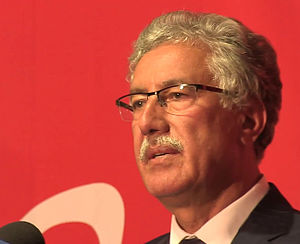 Tunisian parliamentary election, 2014 - Image: Hamma Hammami, Nawaat capture 25 novembre 2014