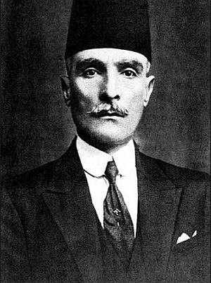 Hananu Revolt - Ibrahim Hananu, a principal leader of the revolt, 1932