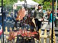 Hanging Meat at a Street Fair.JPG