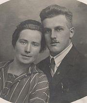 Hans Langmantl und Frau JS 1