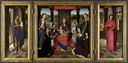 Hans Memling - Donne Triptych - National Gallery London.jpg