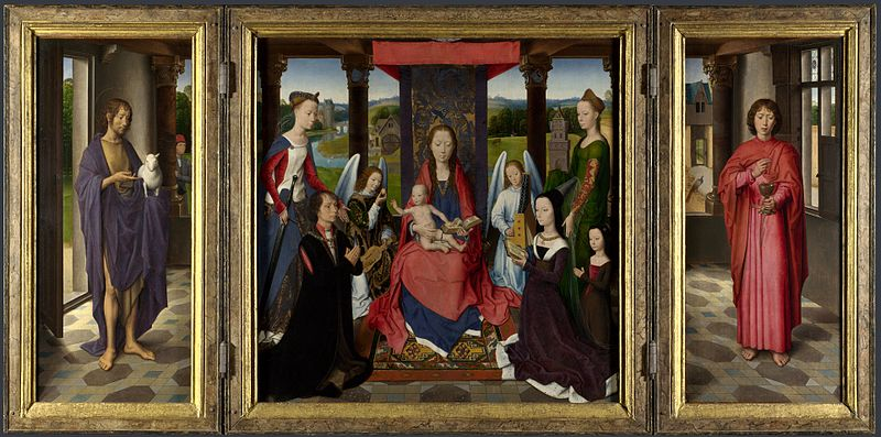 File:Hans Memling - Donne Triptych - National Gallery London.jpg
