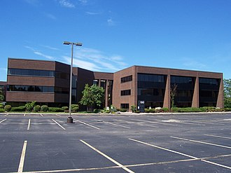 Harris Insights & Analytics - Former headquarters in Brighton, Monroe County, New York