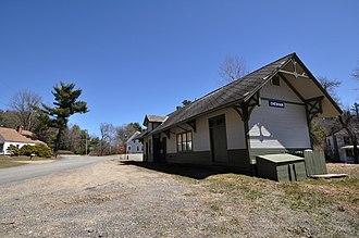 Chesham, New Hampshire - The former Chesham railroad station