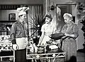 Harry Morgan Cara Williams Verna Felton Pete and Gladys 1960.JPG