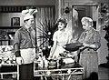 Harry Morgan Cara Williams Verna Felton Pete and Gladys 1960.JPG