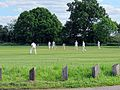 Hatfield Heath CC v. Netteswell CC on Hatfield Heath village green, Essex, England 03.jpg