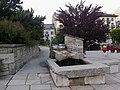 Haute-Savoie Chamonix Place Eglise Fontaine - panoramio.jpg