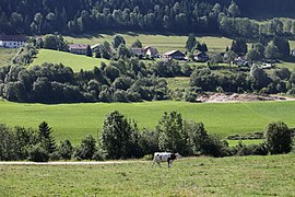 A general view of Hauterive-la-Fresse