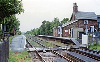 Havenhouse railway station Railway station in Lincolnshire, England